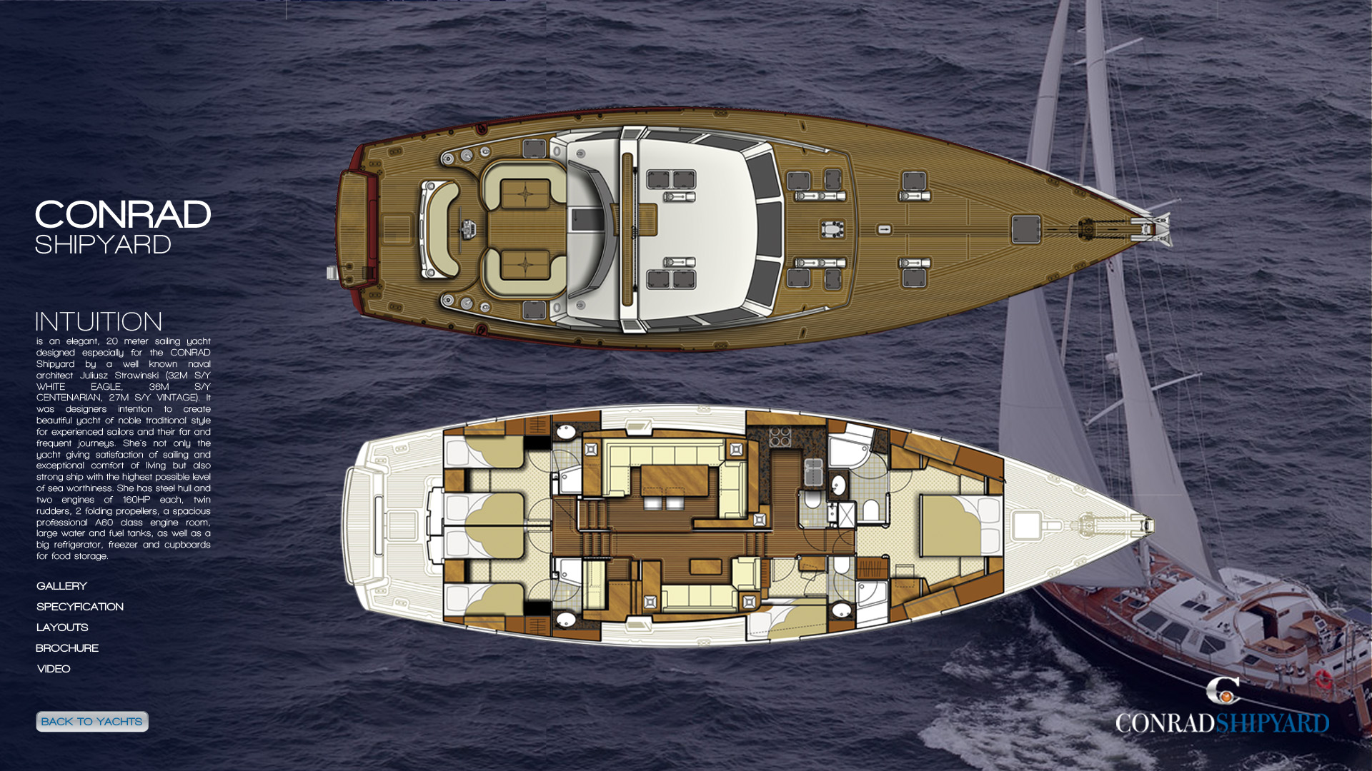 1_3 sailing jachts strona jachtu layout