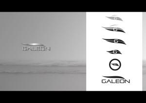 identyfikacja wizualna logo Galeon