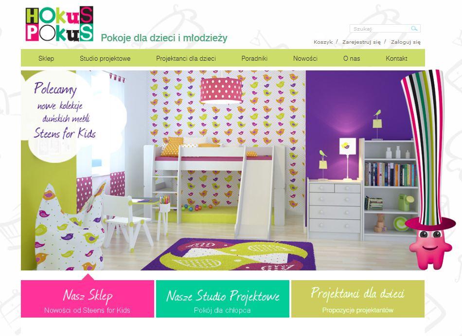 strona www hokus pokus ParkyPat
