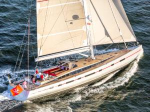 fotografia jachtów żaglowych