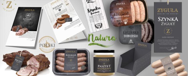 Identyfikacja wizualna firmy mięsnej