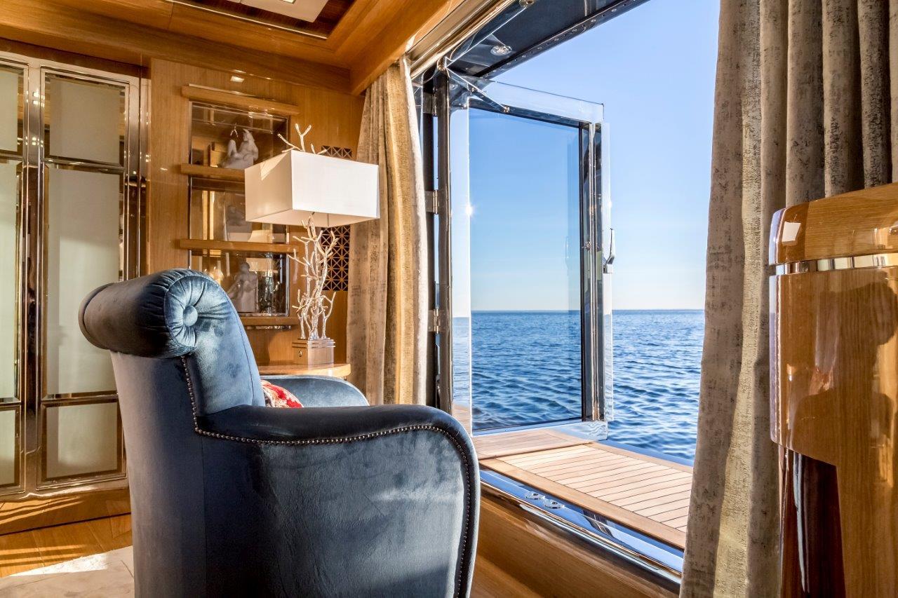 wnętrza jachtów fotograf