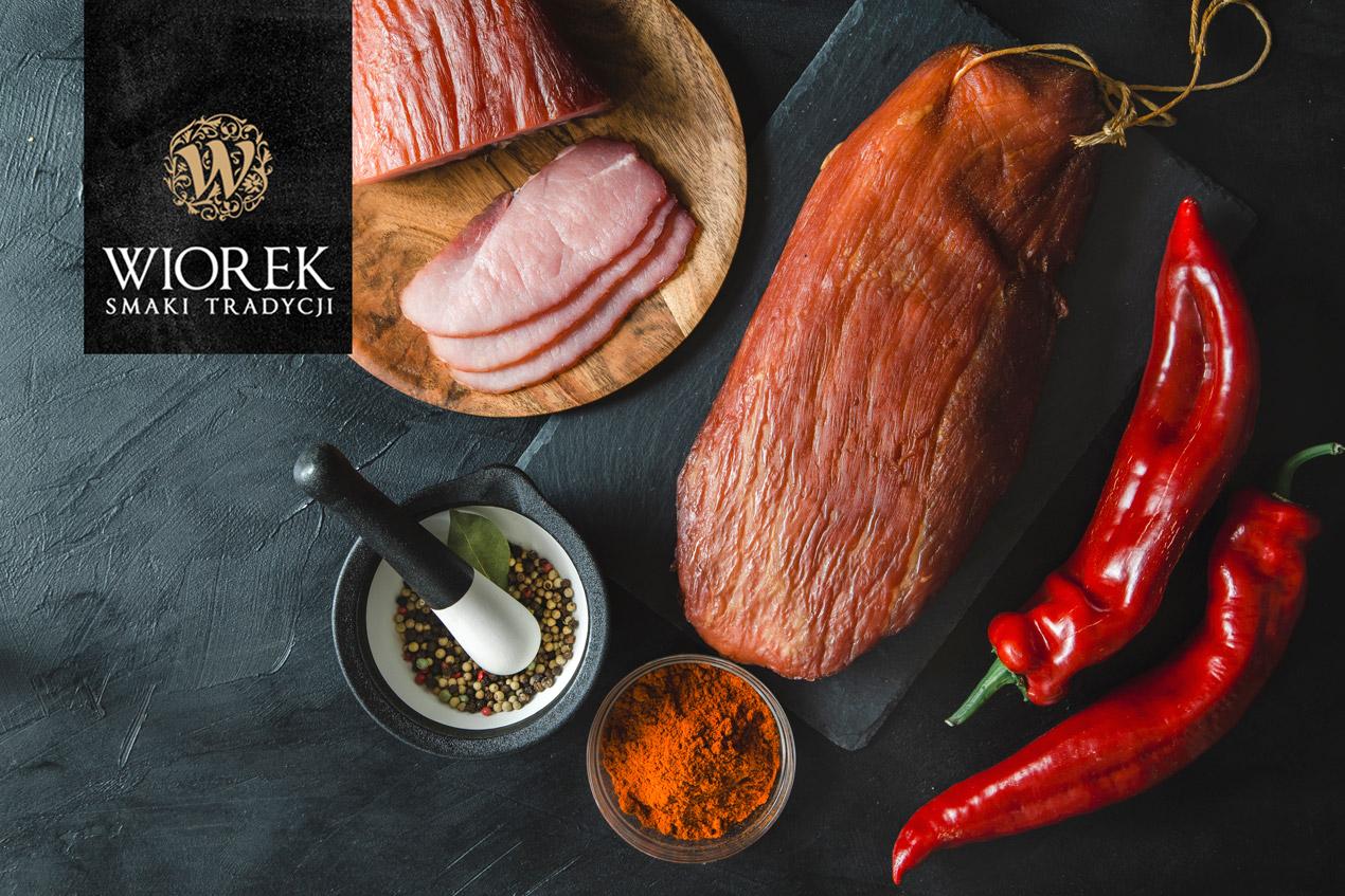 zdjęcia produktowe szynki_wędlin_fotografia żywności