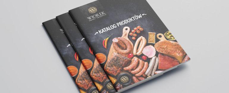 Katalog-folder-produktów-wędliniarskich-smalec-WIOREK-projekt-agencja-reklamowa